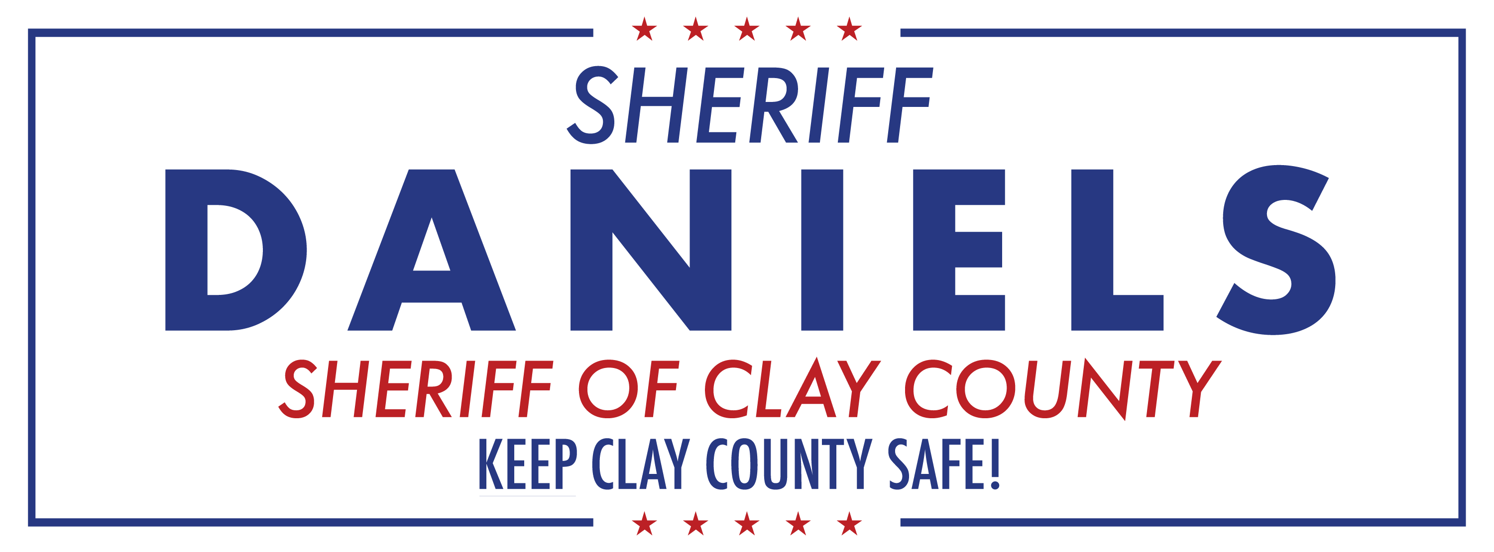 Darryl Daniels For Clay County Sheriff